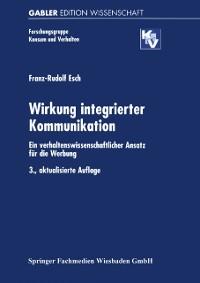 Cover Wirkung integrierter Kommunikation