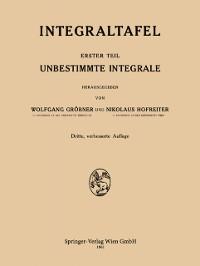 Cover Integraltafel