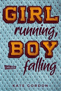 Cover Girl running, Boy falling
