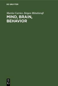 Cover Mind, Brain, Behavior