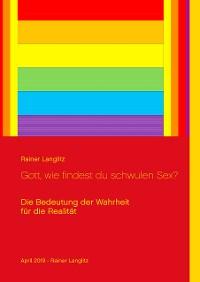 Cover Gott, wie findest du schwulen Sex?