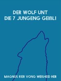 Cover Der Wolf unt die 7 jungeng Geißl1