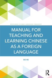 Cover Manual for Teaching and Learning Chinese as a Foreign Language