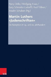 Cover Martin Luthers »Judenschriften«