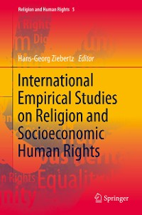 Cover International Empirical Studies on Religion and Socioeconomic Human Rights