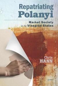 Cover Repatriating Polanyi