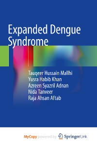 Cover Expanded Dengue Syndrome