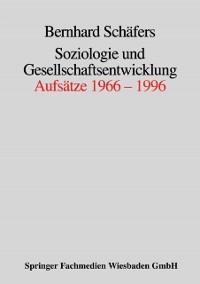 Cover Soziologie und Gesellschaftsentwicklung