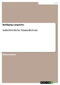 Cover Außerbörsliche Finanzderivate