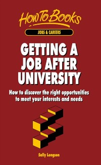 Cover Getting a Job After University