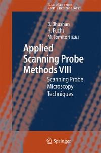 Cover Applied Scanning Probe Methods VIII