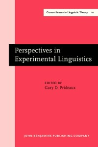 Cover Perspectives in Experimental Linguistics
