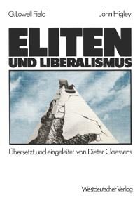 Cover Eliten und Liberalismus