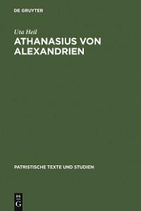Cover Athanasius von Alexandrien