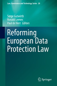 Cover Reforming European Data Protection Law