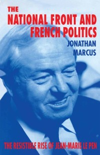 Cover National Front and French Politics