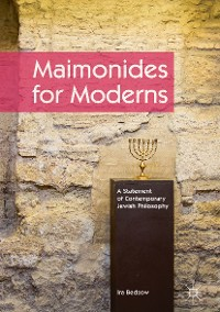 Cover Maimonides for Moderns