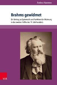 Cover Brahms gewidmet