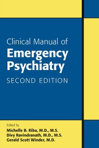 Cover Clinical Manual of Emergency Psychiatry