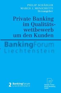 Cover Private Banking im Qualitatswettbewerb um den Kunden
