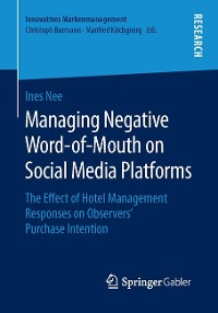 Cover Managing Negative Word-of-Mouth on Social Media Platforms