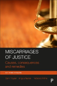 Cover Miscarriages of justice