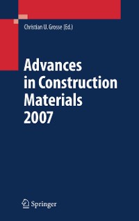 Cover Advances in Construction Materials 2007
