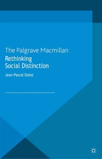 Cover Rethinking Social Distinction