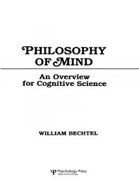 Cover Philosophy of Mind