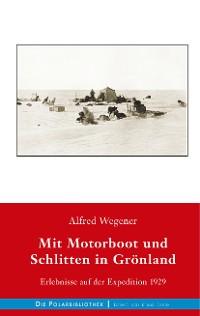 Cover Mit Motorboot und Schlitten in Grönland