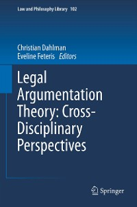 Cover Legal Argumentation Theory: Cross-Disciplinary Perspectives