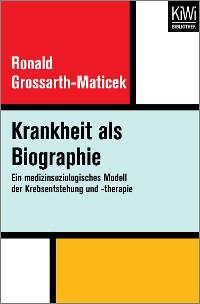 Cover Krankheit als Biographie