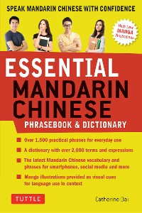 Cover Essential Mandarin Chinese Phrasebook & Dictionary