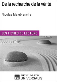 Cover De la recherche de la vérité de Nicolas Malebranche