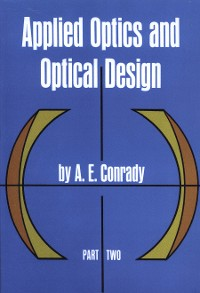 Cover Applied Optics and Optical Design, Part Two