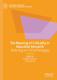 Cover The Meaning of Criticality in Education Research