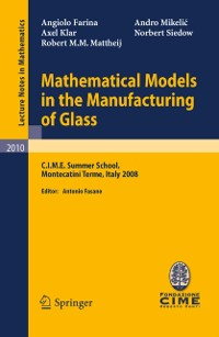 Cover Mathematical Models in the Manufacturing of Glass