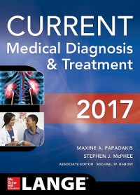 Cover CURRENT Medical Diagnosis and Treatment 2017