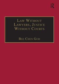 Cover Law Without Lawyers, Justice Without Courts