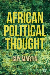 Cover African Political Thought