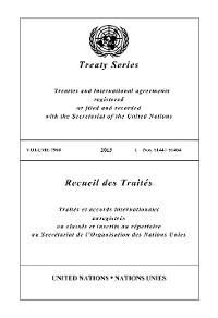Cover Treaty Series 2960/Recueil des Traités 2960