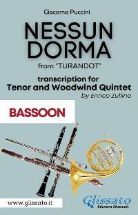 Cover Nessun Dorma - Tenor & Woodwind Quintet (Bassoon part)