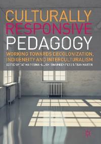 Cover Culturally Responsive Pedagogy