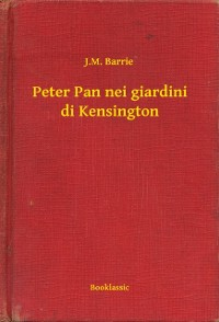 Cover Peter Pan nei giardini di Kensington