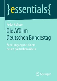 Cover Die AfD im Deutschen Bundestag