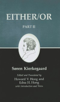 Cover Kierkegaard's Writings IV, Part II