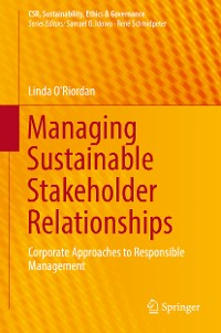 Cover Managing Sustainable Stakeholder Relationships