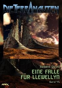 Cover DIE TERRANAUTEN, Band 45: EINE FALLE FÜR LLEWELLYN