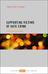 Cover Supporting victims of hate crime
