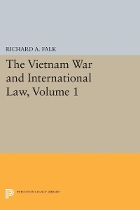 Cover The Vietnam War and International Law, Volume 1